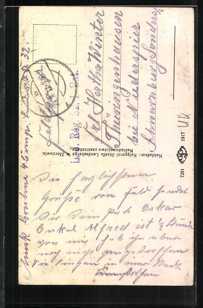 AK Zloczow, Ul. pocztowa 1