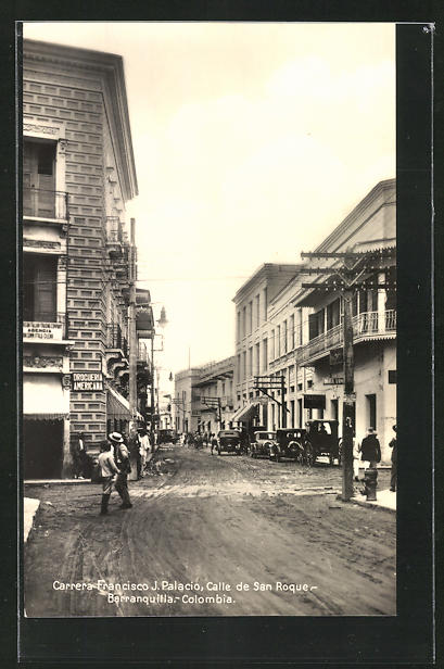 AK Barranquilla, Carrera-Francesco J. Palacio, Calle de San Roque 0