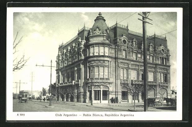 AK Bahía Blanca, Club Argentino 0