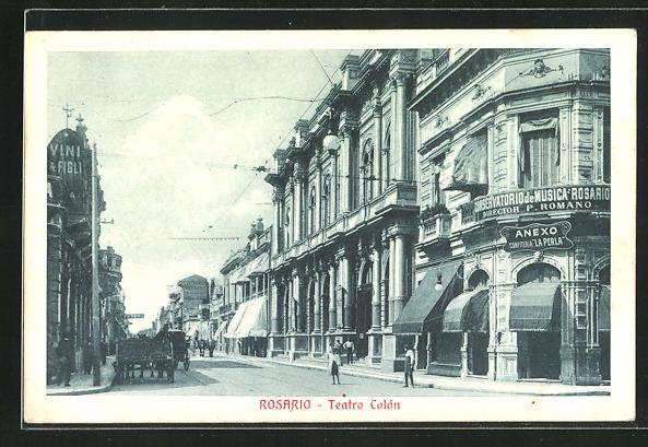 AK Rosario, Teatro Colòn