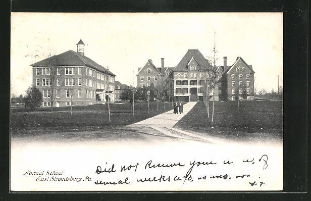 AK East Stroudsburg, PA, Normal School 0