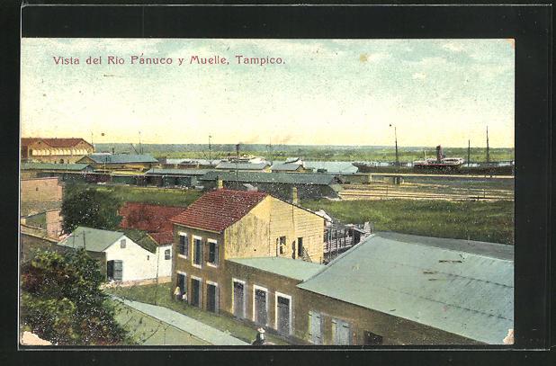 AK Tampico, Vista del Rio Panuco y Muelle 0
