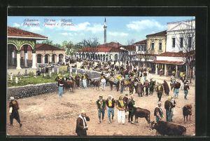 AK Tirana, Markttreiben