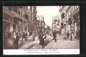AK Salonique, Place de la Libertè