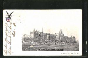 AK Baltimore, MD, St. Agnes Sanitarium