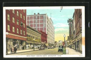 AK Bridgeport, CT, Main Street, Looking North