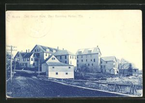 AK West Boothbay Harbor, ME, Oak Grove Hotel