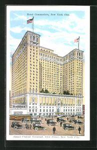 AK New York, NY, Hotel Commodore, Grand Central Terminal