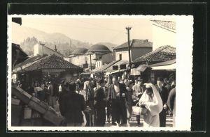 AK Sarajewo, Markttreiben