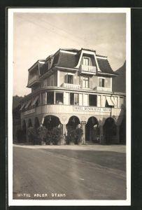 AK Stans, Ansicht vom Hotel Restaurant Adler