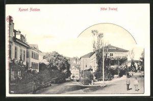 AK Heiden, Hotel Freihof