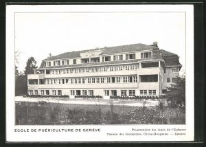 AK Geneve, École de Puériculture de Genève