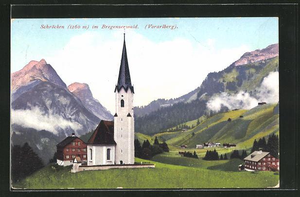 AK Schröcken im Bregenzerwald, Panorama