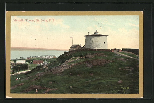 AK St. John, The Martello Tower
