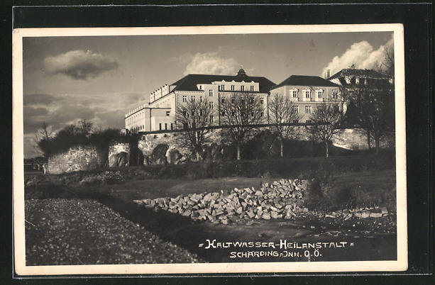 AK Schärding a. Inn, Kaltwasser-Heilanstalt