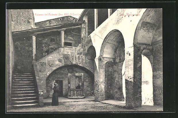AK San Gimignano, Palazzo del Podesta