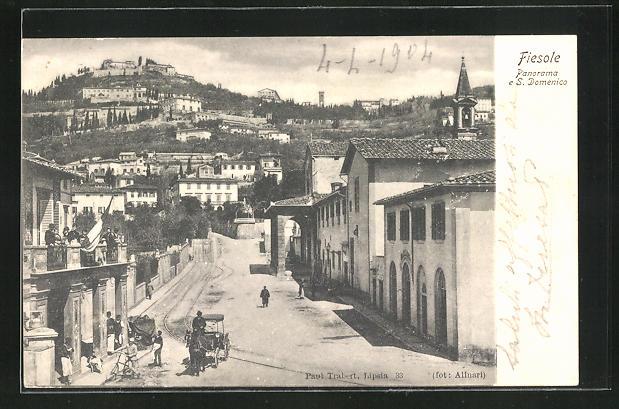 AK Fiesole, Panorama e S. Domenico