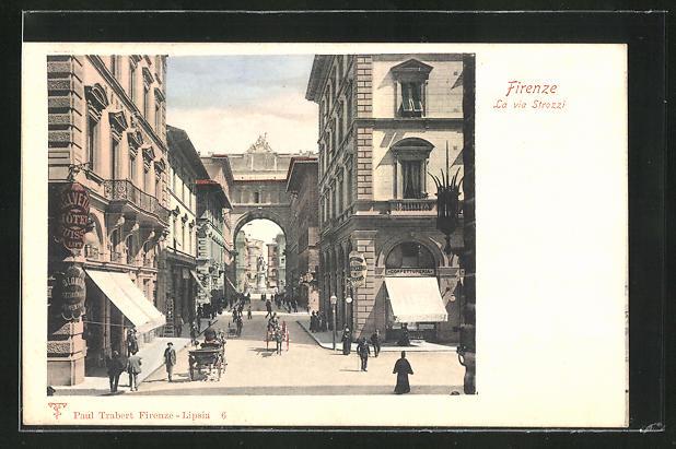 AK Firenze, La via Strozzi