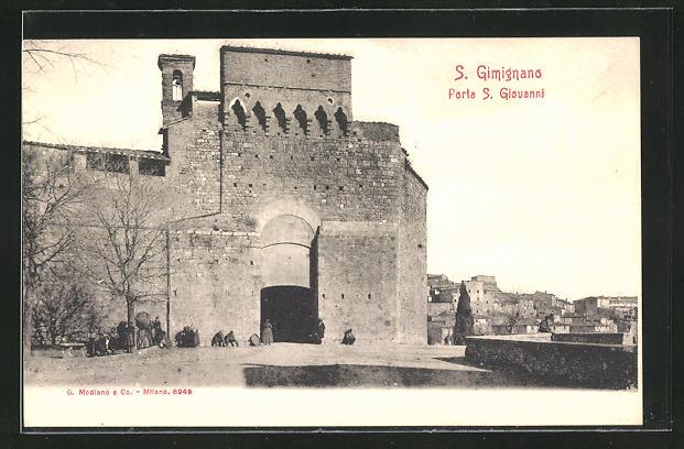 AK S. Gimignano, Porta S. Giovanni