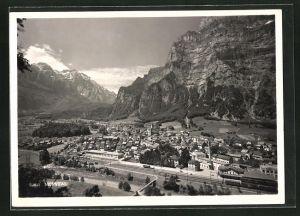 AK Netstal, Ortspartie im Gebirge