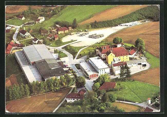 AK Bad Hall, Gesamtansicht der Firma Fein Ges.m.b.H., Brauerei Mühlgrub