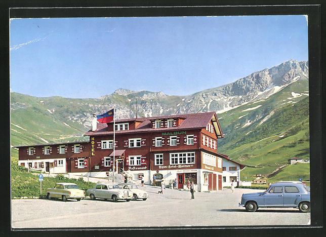 AK Triesenberg, Alpen-Hotel Malbun
