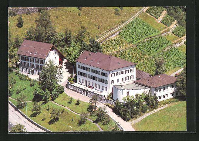 AK Balzers, Hotel Haus Gutenberg