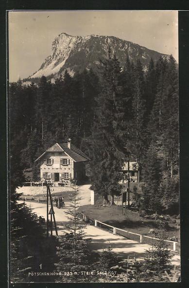 AK Steir. Salzkammergut, Pötschenhöhe