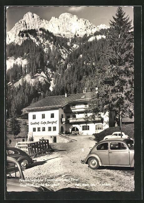 AK Nesselwengle Tannheimertal, Gasthof Cafe Berghof
