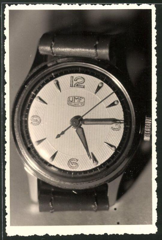 Fotografie Armbanduhr der Firma UMF - Ruhla VEB Uhren und Maschinenfabrik