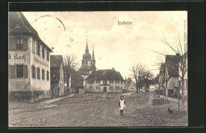 AK Ipsheim, Partie am Gasthaus von Leonhard Koch