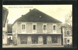 AK Aistersheim, Kaufladen Franz Kettl