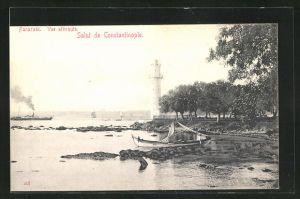 AK Constantinople, Fanaraki, vue attiraute, Leuchtturm