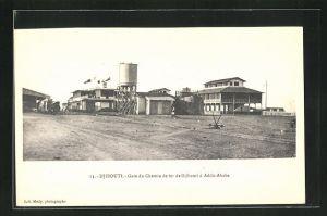 AK Djibouti, Gare du Chemin de fer de Djibouti a Addis-Ababa