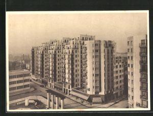 AK Villeurbanne, Nouveau Centre d`Urbanisme, Bauhaus