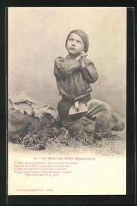 AK Le Noel du Petit Ramoneur, Kleiner Schornsteinfeger betet