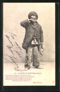 AK Le Noel du Petit Ramoneur, Kleiner weinender Schornsteinfeger