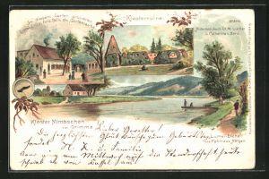 Künstler-AK Bruno Bürger & Ottillie Nr. 2042: Grimma, Kloster Nimbschen, Blick zur Ruine