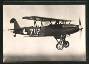 AK Flugzeug Fokker C. 10 in der Luft