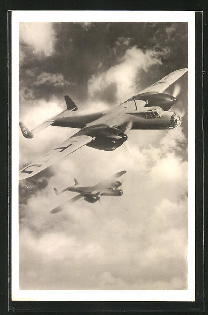 AK Unsere Luftwaffe, Kampfflugzeug Dornier Do 17
