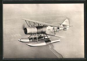 AK Fokker C. 14-W, Wasserflugzeug in der Luft