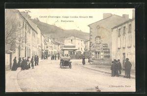 AK Pontaumur, Circuit d` Auvergne, Coupe Gordon Bennett 1905, Autorennen