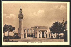 AK Bizerte, La Gare, Ansicht vom Bahnhof