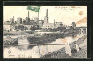 AK Pont-St-Vincent, Les Hauts fourneaux, Le Canal, L` Écluse