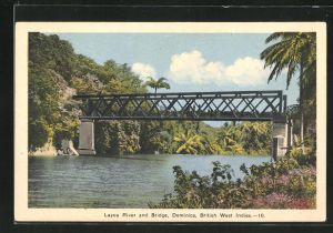 AK Dominica, Layou River and Bridge