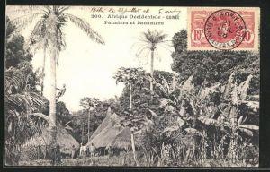 AK Guinee, Palmiers et bananiers