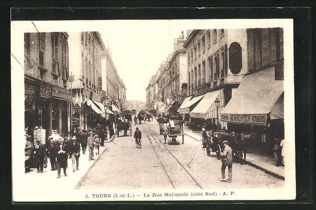 AK Tours, la Rue Nationale