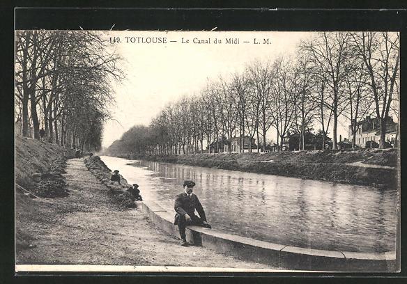 AK Toulouse, Le Canal du Midi