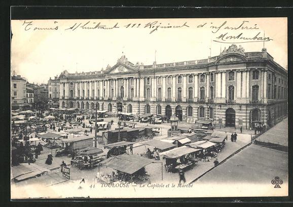 AK Toulouse, le Capitole et le Marche