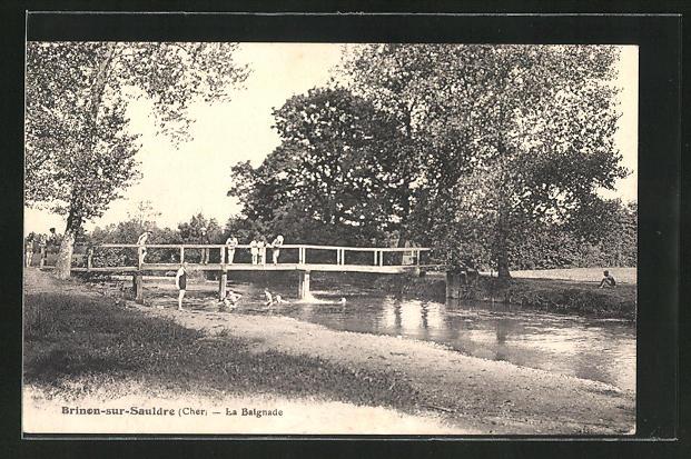 AK Brinon-sur-Sauldre, La Balgnade